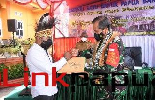 Pangdam XVIII/Kasuari Mayjen TNI I Nyoman Cantiasa.