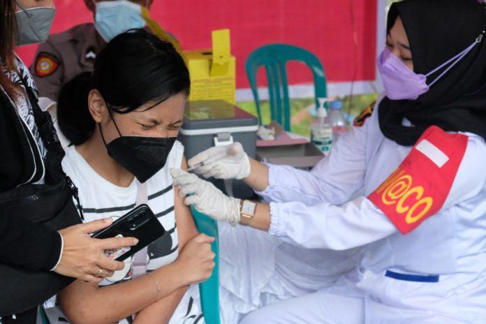 vaksinasi presisi polda papua barat