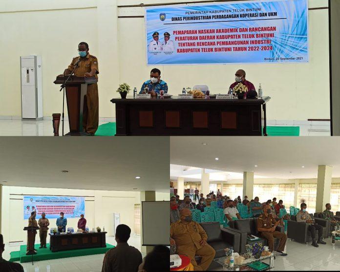 Diperindagkop UMKM Kabupaten Teluk Bintuni