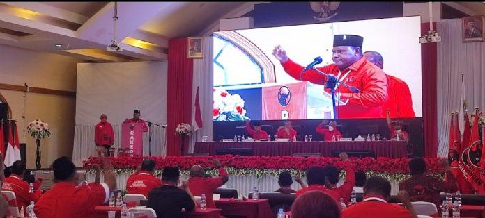 Rakerda PDIP Papua Barat