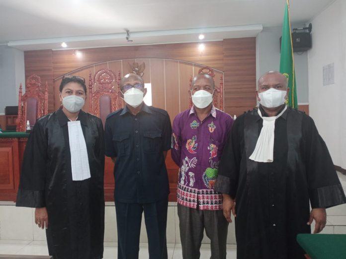 sidang kasus mansinam