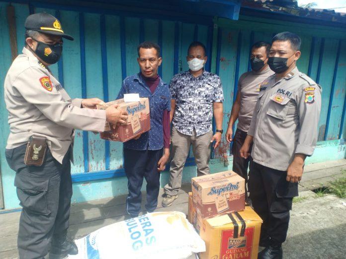 Polres Manokwari Kebakaran Borobudur